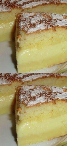 Magisches Dessert, das selbst in drei Schichten unterteilt ist! Mousse Au Chocolat Torte, Crazy Kitchen, Russian Recipes, Bon Appetit, Cake Toppers, Food To Make, Delish, Biscuits, Cake Decorating