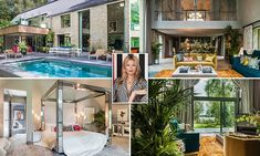 Set in the heart of The Cotswolds, within its own secluded one acre plot of private woodland, the new five bedroom home which is available to buy, was designed by the supermodel.