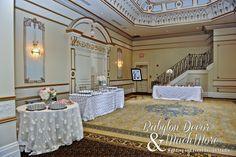 #wedding #decor #receivingtable #tablelinen #weddingdecor #weddingfavours
