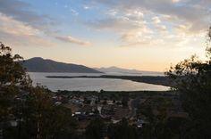 Lago de Pátzcuaro. Vista desde el cerro del Sandio en San Jerónimo Purenchécuaro.