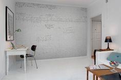 Hey, look at this wallpaper from Rebel Walls, Crumbling Bricks! #rebelwalls #wallpaper #wallmurals