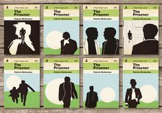 The Prisoner postcard set. God that show creeped me out as a kid.