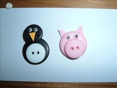 Button Animals by: HannahW1