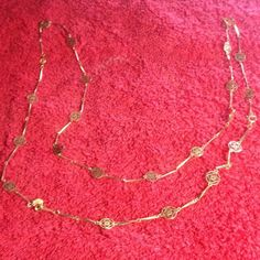 """Vintage Gold Avon Necklace Vintage gold necklace from Avon. 34"""". No trades Vintage Jewelry Necklaces"""
