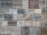 patchwork perzisch vloerkleed / Deniz 3 / carpet /