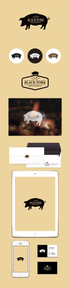 Black Pork [Logo Design By Conoi]