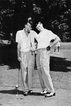 "pictures of dean martin and paul newman | ... the chance a kid"" - Bad quality picture of Dean and Jerry golfing"