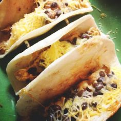 Lola's Homemade Cooking: Southwest Chicken Tacos (On The Border Style)