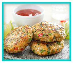Thai Fish Cakes Recipe Appetizers and Canapés, Fish Course, Starters Recipes Kitchen Goddess appetizers healthy;appetizers sweet desserts dips and; Appetizer Dishes, Easy Appetizer Recipes, Mexican Appetizers, Halloween Appetizers, Delicious Appetizers, Avacado Appetizers, Prociutto Appetizers, Elegant Appetizers, Health Appetizers