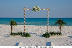 White Threshold of Love - Bamboo Beach Wedding Package