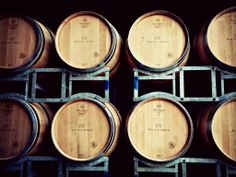 There is so much beauty in wine barrels! #Reschke #Coonawarra #Cabernet #wine