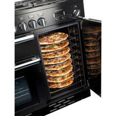 Rangemaster 92590 Professional Plus Dual Fuel Range Cooker - Kitchen Ideas Kitchen Cooker, Kitchen Stove, Kitchen Pantry, Kitchen Appliances, Aga Stove, Black Appliances, Home Decor Kitchen, Interior Design Kitchen, Interior Livingroom