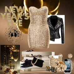"""New Year's Eve!!!"" by haybeth ❤ liked on Polyvore"