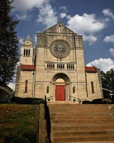The beautiful St. Peter Catholic Church in Lexington Kentucky.