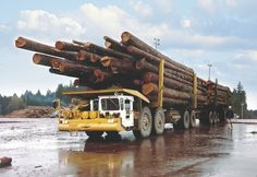Butler Brothers logging truck of Canada