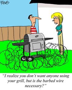 Sunday Morning Comics April 21, 2013    #Cartoon #Comic #Grilling #Cartoons http://www.cooking-outdoors.com