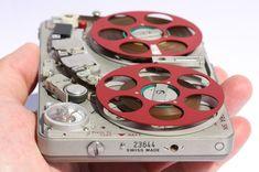 Nagra swiss engineering micro tape recorder.