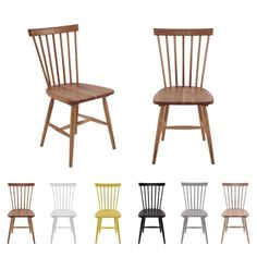 Wood pinnestol fra Department i hvitpigmentert eik. Into The Woods, 6 Packs, Dining Chairs, Packing, Interior, Furniture, Design, Home Decor, Products