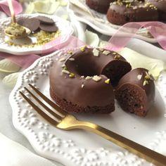 「簡単*チョコとナッツのしっとりドーナツ」haru | お菓子・パンのレシピや作り方【cotta*コッタ】