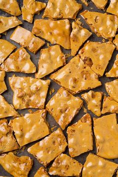 Microwave Peanut Brittle Recipe via Cooking Classy at www.cookingclassy.com ...