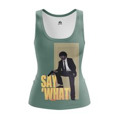 cool Girls Tank Say what Pulp Fiction Collectibles Merch