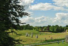 Avebury standing stones, Wiltshire #avebury #standingstones