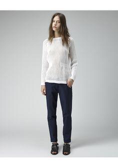Rachel Comey / Open Knit Pullover | La Garconne