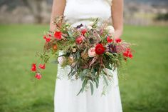 Bridal Bouquet Designed by Sheri Jentsch and photographed by Diana Marie Photography.