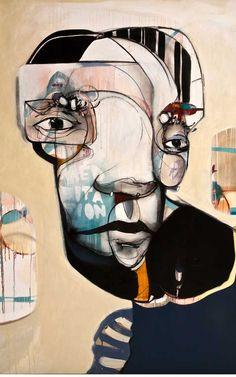 Daniel O'Toole (aka 'ears')  #streetart #art #painting