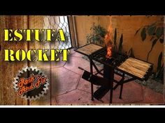DIY  Estufa Rocket/Rocket Stove Paso a Paso - YouTube