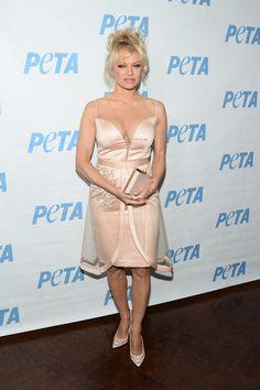 Pamela Anderson Photos Photos - Actress Pamela Anderson attends the LA launch…