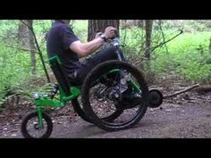 Mountain Trike's innovative drive system allows one to get off the pavement and see the wild places ---- YouTube