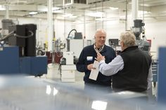 Grand Rapids Community College and the Ottawa Area Intermediate School District  celebrated the 15th anniversary of the Patrick A. Thompson M-TEC facility. Guests had a chance to see new manufacturing equipment purchased with a state grant.