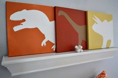 Jurassic Park Silhouettes ...    Art for your Kid's Wild Side!      Finally ... the holiday rush has calmed ... and it's time to   add so...