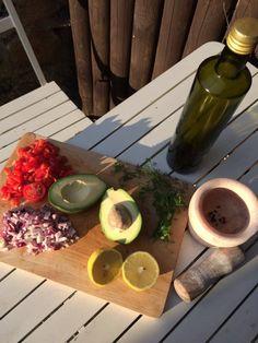 domácí zdravé guacamole recept