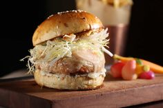 The NoMad's New Chicken Burger