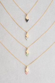 Queen of Diamonds Stone Necklace