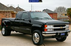 chevrolet dually with stacks - Google Search