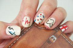 Nail art nurse