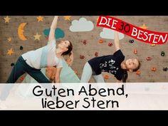 Guten Abend, lieber Stern - Yoga Bewegungslieder für Kinder II Kinderlieder - YouTube
