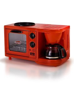 Maxi-Matic USA Red Elite Cuisine 3-in-1Multifunction Breakfast Station » Perfect for small home living.