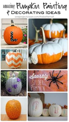 Pumpkin Carving and Decorating!