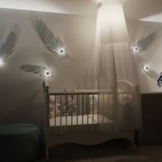 I Really Like The Feathers For A Native American Themed Nursery Design Baby