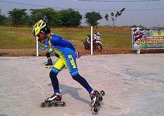 Atlet Putri Sidoarjo Raih Emas di 1000 M Speed Kejurda Sepatu Roda Piala Walikota Surabaya