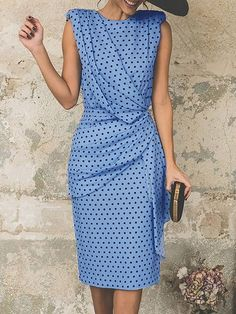 Buy Sundress Midi Dresses For Women from Fantasyou at Stylewe. Online Shopping Stylewe Summer Dresses Sundress Holiday Sheath Crew Neck Holiday Sleeveless Cutout Dresses, The Best Daily Midi Dresses. Trendy Dresses, Elegant Dresses, Casual Dresses, Midi Dresses, Sleeve Dresses, Dresses Uk, Modest Dresses, Formal Dresses, Sexy Dresses