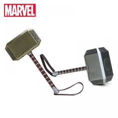 Marvel Toys Thor's Hammer The Avengers Superhero Thor Cosplay Props Metal Hammer Collectible Model Toy Thor Custome Thor Cosplay, Avengers Superheroes, Popular Toys, Thors Hammer, New Toys, Marvel, Metal, Collection, Electronics Gadgets