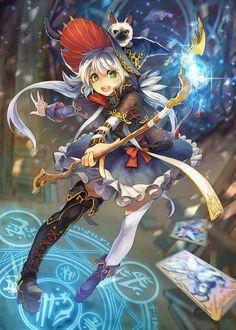 일본 밀리언아서 공모전 투고했습니다. 이름은 아리엘로 지어줌! 바람계열을 다루는 마법소녀! :Q 아래는 픽시브 주소 ARIEL   NOI [pixiv] http://www.pixiv.net/member_illust.php?mode=medium&illust_id=51259256 …