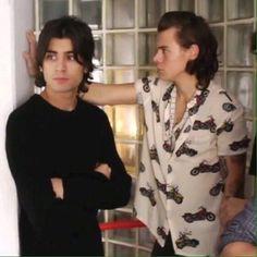Zayn Malik and Harry Styles, Long hair crew, 2014