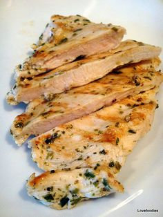 Quick & Easy Moist Chicken Breast. Never again will you eat dry chicken! Goes great with my Garlic and Herb Spaetzle too.