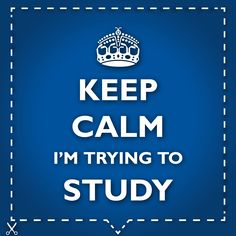 are your parents to nervous for your exams? do they keep bugging you? attach this visual to your door to keep them out.